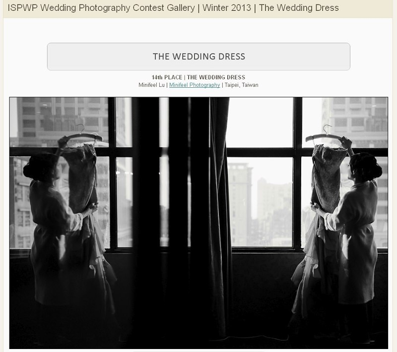 婚攝小寶,WPJA ,AGWPJA ,Fearless ,MINIFEEL, Awards,ISPWP,Wedding Details
